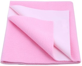 Tinny Tots Polyester Plain Single Bedsheet
