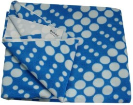 Quick Dry Cotton, Rubber Extra Large Sleeping Mat Regular Print Blue Circle