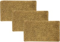 Tiskal Cotton Medium Bath Mat TK-BM-KARISMA_Beige-3 Beige, 3 Bath Mat