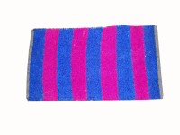 Mrignayaneei Cotton, Silk Medium Bath Mat Cotton Blue, Pink