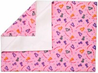 Rachna Polyester Large Sleeping Mat Feel Dry Printed (Pink, 1 Mat)