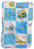 Love Baby Cotton Small Sleeping Mat Fix Pillow Mat (Blue)