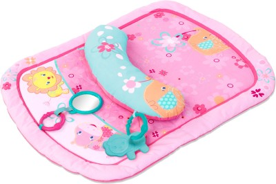 Bright Starts Mat Pink, Light Blue