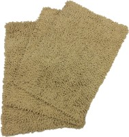 Tiskal Cotton Medium Bath Mat Karisma-Dark Beige-3 Beige