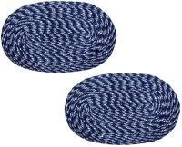 Kuber Industries Cotton Medium Door Mat Door Mat Set Of 2 Pcs Blue