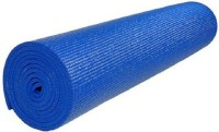 Portia PVC Large Yoga And Exercise Mat 6mm Yoga Mat Blue (Blue, 1 Yoga Mat)