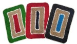 Christy's Collection Christy's Set of 3 cotton door mats