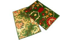 Ritika Carpets Velvet Medium Door Mat Door Mat Set Of 2 Green, 2 Mat - MATEBVP89TQPYQFB