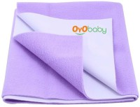 Oyo Baby Cotton Small Changing Mat Baby Care Sheet (Purple, 1 Mat)