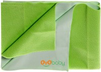Oyo Baby Cotton Small Changing Mat Baby Care Sheet (Light Green, 1 Mat)