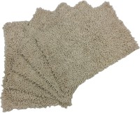 Tiskal Cotton Medium Bath Mat Karisma-Light Beige-5 Beige