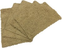 Tiskal Cotton Medium Bath Mat Karisma-Dark Beige-5 Beige