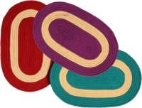 Kuber Industries Cotton Medium Door Mat Door Mat Set Of 3 Pcs Multicolour - MATEBYU5ZHZTBTQC