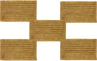 Tiskal Cotton Medium Bath Mat TK-BM-FRANK_Beige-5 Beige, 5 Bath Mat