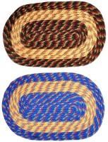Kuber Industries Cotton Medium Door Mat Door Mat Set Of 2 Pcs Multicolour