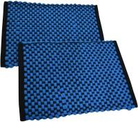 The Fancy Mart Nylon Medium Door Mat Multicolor, Set Of 2 Piece Of Door Mat