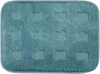 Saral Home Microfiber Large Bath Mat Premium Quality Soft Micro Polyester Bathmat Set Of 2Pc -35X50 Cm -2Pc Blue, 2Pc Bath Mat