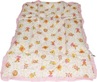 Wonderkids Teddy Print Fix Pillow Mat (Pink)