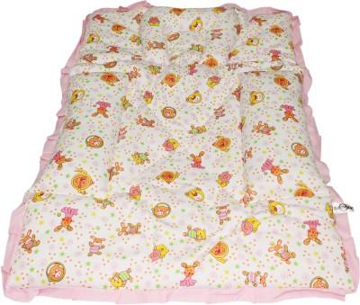 Wonderkids Teddy Print Fix Pillow Mat (Pink)