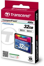 Transcend Compact Flash 32 GB 400X
