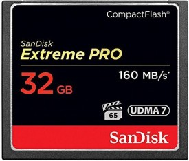 SanDisk Extreme PRO 32 GB Compact Flash Class 10 160 MB/s Memory Card