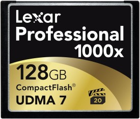 Lexar Professional 128 GB Compact Flash  Memory Card