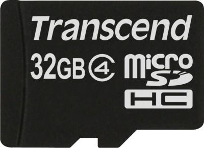 Buy Transcend MicroSD Card 32 GB Class 4: Memory Card