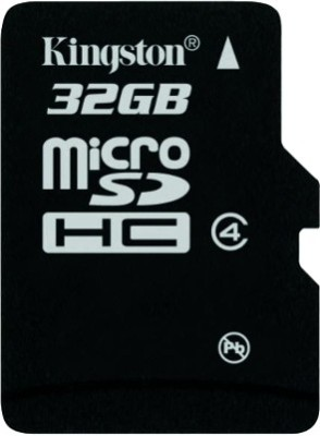 Kingston 32 GB MicroSD Card Class 4 4 MB/s Memory Card Rs.399 From Flipkart