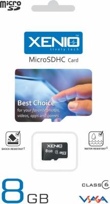Xenio 8GB Class 6 MicroSDHC Memory Card