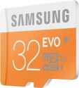 Samsung 32 GB MicroSD Card Class 10 48 MB/s  Memory Card