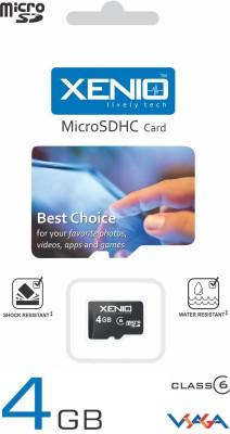 Xenio 4GB Class 6 MicroSDHC Memory Card