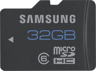 Samsung MB MSB GB/IN MicroSD 32  GB Memory Card Class 6 available at Flipkart for Rs.768