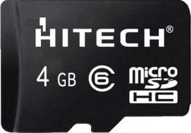Hitech 4GB MicroSDHC Class 6 Memory Card