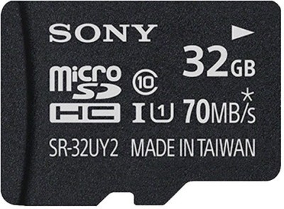 Sony 32GB MicroSDHC Class 10 (70MB/s) Memory Card