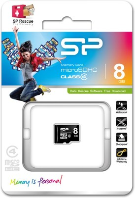 Silicon-Power-8GB-MicroSDHC-Class-4-Memory-Card