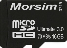 Morsim 16GB Class 10 MicroSDHC Memory Card
