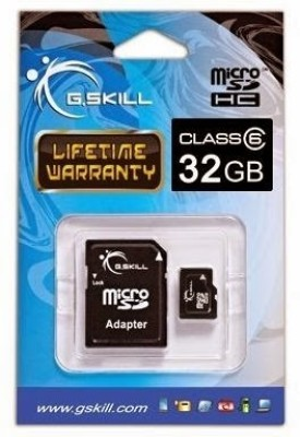 G.Skill-32GB-MicroSDHC-Class-6-Memory-Card-(With-Adapter)