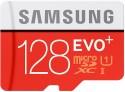 Samsung MicroSDXC 128 GB 80 MB/s Class 10 EVO Plus