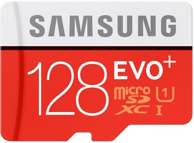 SAMSUNG EVO Plus 128 GB MicroSDXC Class 10 80 MB/s Memory Card By Fipkart @ Rs.2,799