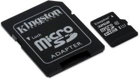 Kingston 32 GB MicroSDHC Class 10 80 MB/s Memory Card