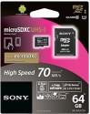 Sony MicroSDXC 64 GB Class 10 SR-64UY2A UHS-I Class 10