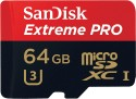 SanDisk Extreme Pro 64 GB MicroSDXC UHS Class 3 95 MB/s  Memory Card