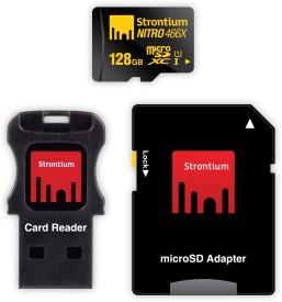 Strontium Nitro plus 128 GB MicroSDXC UHS Class 1 70 MB/s Memory Card