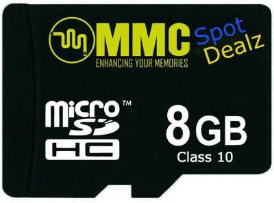 Spot Dealz Ultra 8GB MicroSDHC Class 10 (48MB..