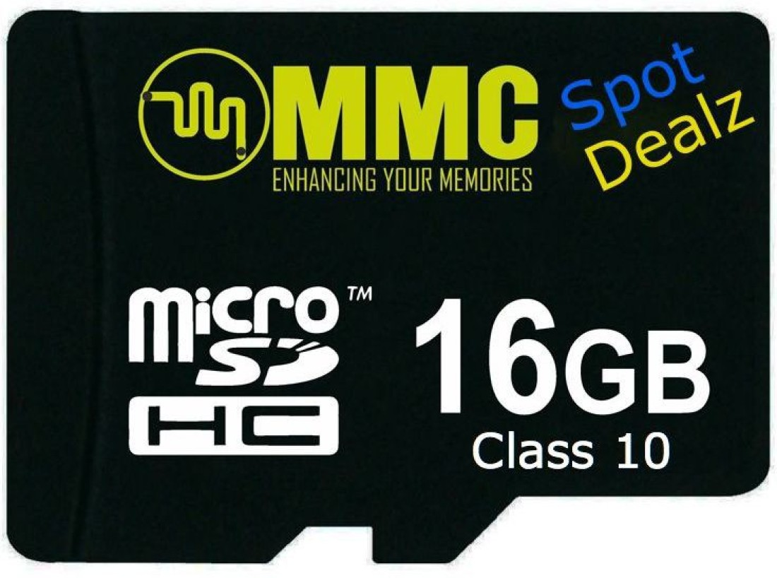 Spot Dealz Ultra 16 GB MMC Class 10 48 MBs  Memory Card