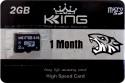 King Ultra 2 GB SD Card Class 6 90 MB/s  Memory Card