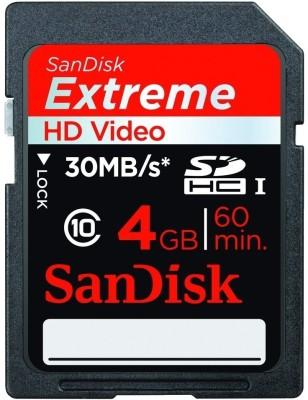 Buy SanDisk SDHC 4 GB Class 10: Memory Card