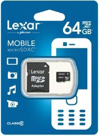 Lexar 64GB Class 10 MicroSDXC Memory Card