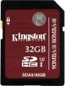 Kingston UHS-I Class 3 32 GB SDHC UHS Class 3 90 MB/s  Memory Card
