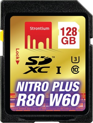 Strontium Nitro Plus 128GB UHS-1(U3) SDXC Memory Card